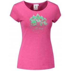 Dámské triko ALTISPORT ALW067122 PURPUROVÁ