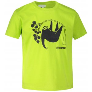 Dětské triko ALTISPORT ALK070138 LIMETKOVÁ