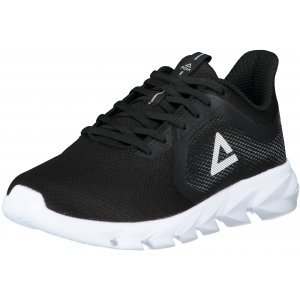 Pánské boty PEAK RUNNING SHOES E11407H BLACK/WHITE