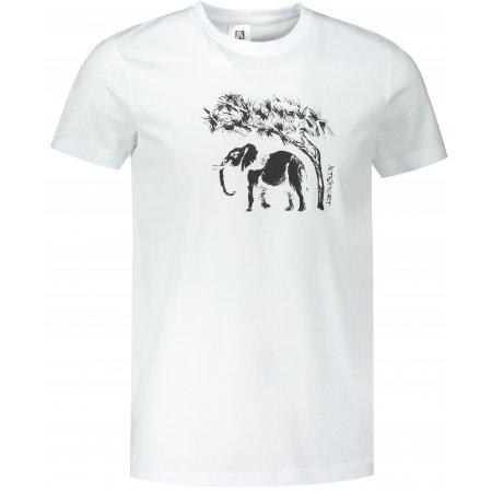 Pánské triko ALTISPORT ALM083129 BÍLÁ