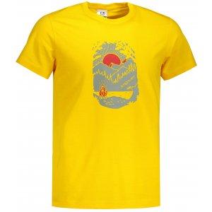 Pánské triko ALTISPORT ALM082129 ŽLUTÁ