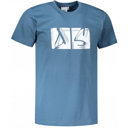 Pánské triko ALTISPORT ALM078129 DENIM