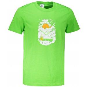 Pánské triko ALTISPORT ALM082129 APPLE GREEN