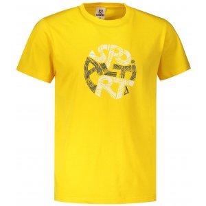 Pánské triko ALTISPORT ALM086129 ŽLUTÁ