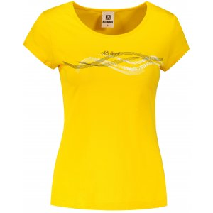 Dámské triko ALTISPORT ALW085122 ŽLUTÁ