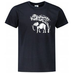 Pánské triko ALTISPORT ALM083129 NÁMOŘNÍ MODRÁ