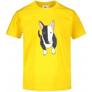Dětské triko ALTISPORT ALK079138 ŽLUTÁ
