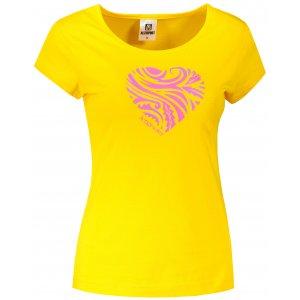 Dámské triko ALTISPORT ALW077122 ŽLUTÁ