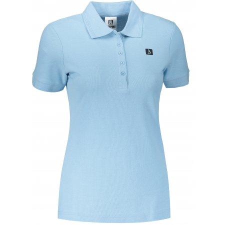 Dámské triko s límečkem ALTISPORT ALW065210 NEBESKY MODRÁ