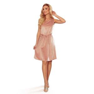 Dámské šaty NUMOCO 296-7 RŮŽOVÁ