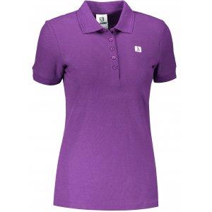 Dámské triko s límečkem ALTISPORT ALW065210 FIALOVÁ