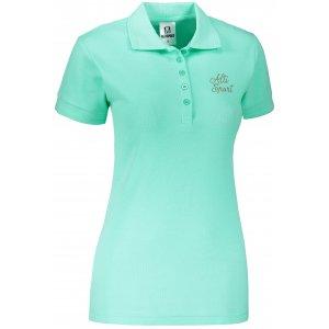 Dámské triko s límečkem ALTISPORT ALW056210 MÁTOVÁ