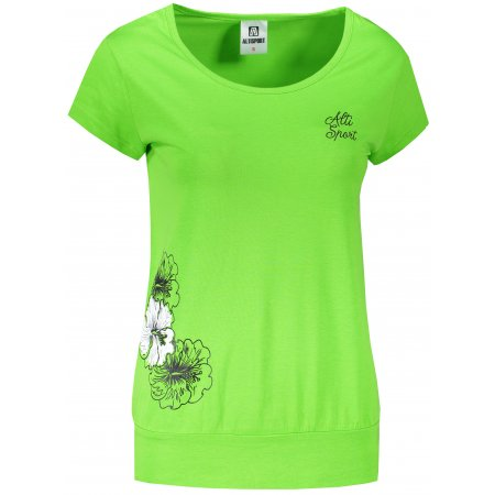 Dámské triko ALTISPORT ALW106120 APPLE GREEN