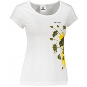 Dámské triko ALTISPORT ALW105122 BÍLÁ