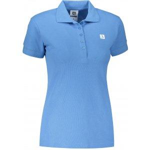Dámské triko s límečkem ALTISPORT ALW065210 AZUROVÁ