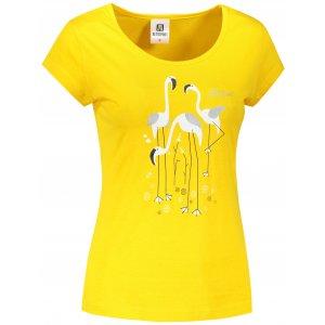Dámské triko ALTISPORT ALW099122 ŽLUTÁ