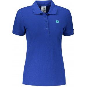 Dámské triko s límečkem ALTISPORT ALW065210 KRÁLOVSKÁ MODRÁ