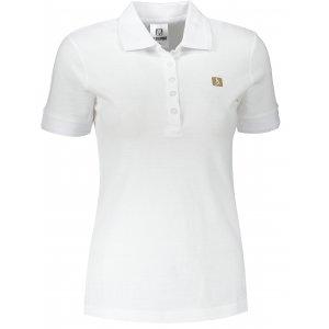 Dámské triko s límečkem ALTISPORT ALW065210 BÍLÁ