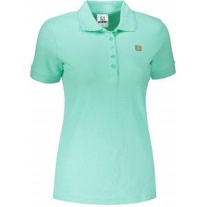 Dámské triko s límečkem ALTISPORT ALW065210 MÁTOVÁ