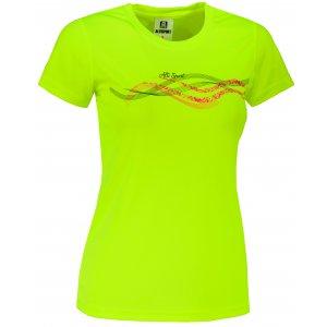 Dámské funkční triko ALTISPORT ALW085140 NEON YELLOW
