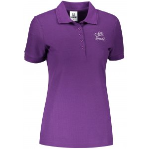Dámské triko s límečkem ALTISPORT ALW056210 FIALOVÁ