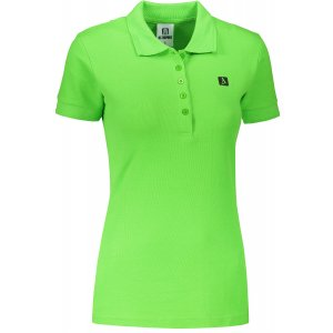 Dámské triko s límečkem ALTISPORT ALW065210 APPLE GREEN