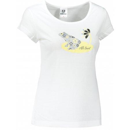 Dámské triko ALTISPORT ALW097122 BÍLÁ