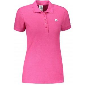 Dámské triko s límečkem ALTISPORT ALW065210 PURPUROVÁ
