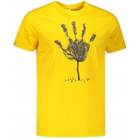 Pánské triko ALTISPORT ALM103129 ŽLUTÁ