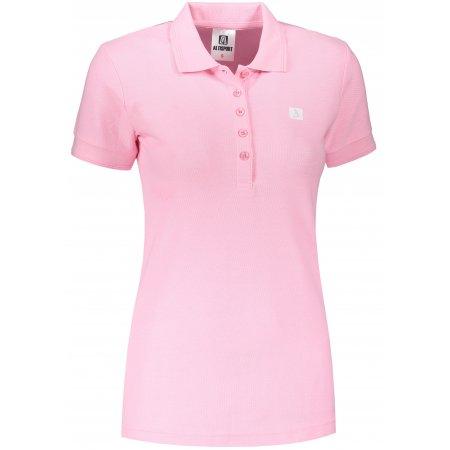 Dámské triko s límečkem ALTISPORT ALW065210 SVĚTLE RŮŽOVÁ