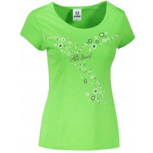 Dámské triko ALTISPORT ALW088122 APPLE GREEN