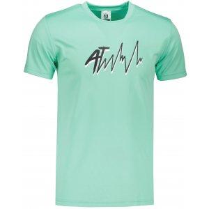 Pánské funkční triko ALTISPORT ALM109124 MÁTOVÁ