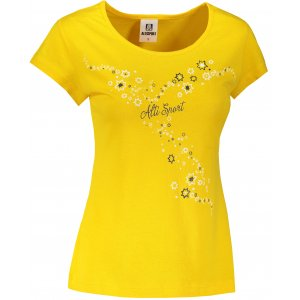 Dámské triko ALTISPORT ALW088122 ŽLUTÁ