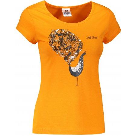Dámské triko ALTISPORT ALW101122 TANGERINE ORANGE