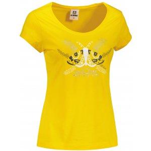 Dámské triko ALTISPORT ALW124162 ŽLUTÁ