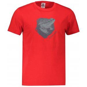 Pánské triko ALTISPORT ALM117129 ČERVENÁ