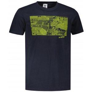 Pánské triko ALTISPORT ALM120129 NÁMOŘNÍ MODRÁ
