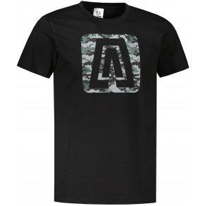 Pánské triko ALTISPORT ALM114129 ČERNÁ