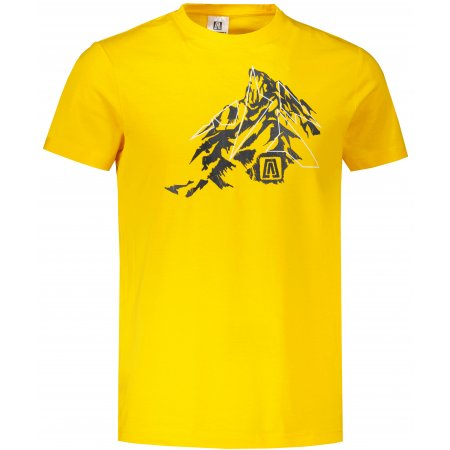 Pánské triko ALTISPORT ALM115129 ŽLUTÁ