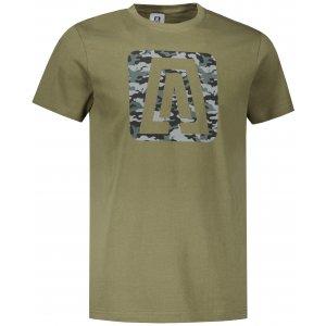 Pánské triko ALTISPORT ALM114129 KHAKI