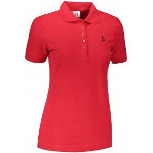 Dámské premium triko s límečkem ALTISPORT ALW002210 ČERVENÁ