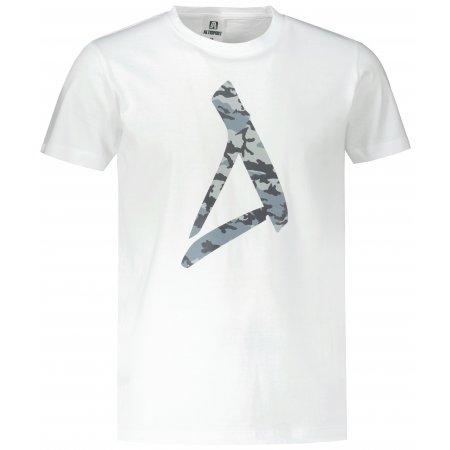 Pánské triko ALTISPORT ALM121129 BÍLÁ