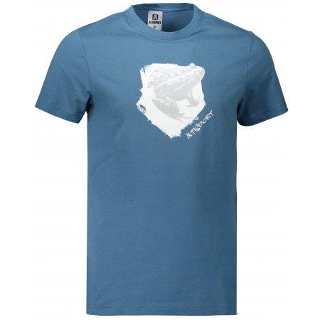 Pánské triko ALTISPORT ALM117129 DENIM