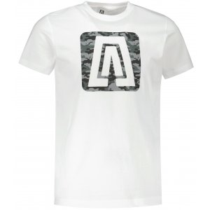 Pánské triko ALTISPORT ALM114129 BÍLÁ