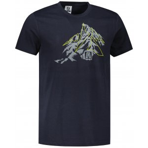 Pánské triko ALTISPORT ALM115129 NÁMOŘNÍ MODRÁ