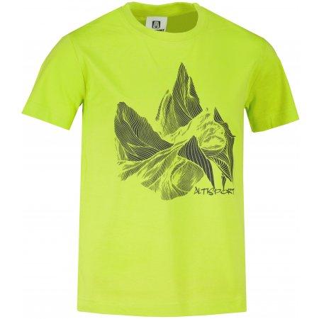 Dětské triko ALTISPORT ALK123138 LIMETKOVÁ