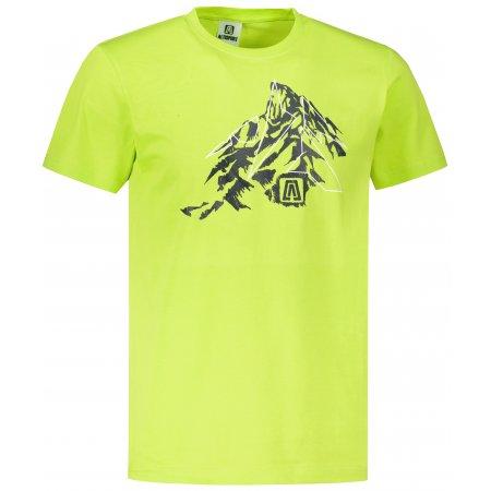 Pánské triko ALTISPORT ALM115129 LIMETKOVÁ
