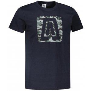 Pánské triko ALTISPORT ALM114129 NÁMOŘNÍ MODRÁ