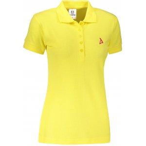 Dámské premium triko s límečkem ALTISPORT ALW002210 CITRÓNOVÁ