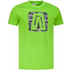 Pánské triko ALTISPORT ALM114129 APPLE GREEN